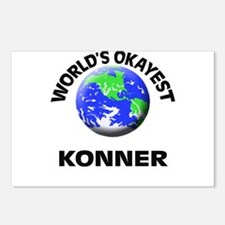 World's Okayest Konner Postcards (Package of 8)