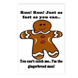 Gingerbread man Postcards