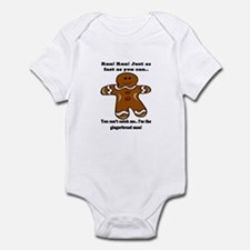 GINGERBREAD MAN! Infant Bodysuit