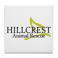 Hillcrest Animal Rescue Tile Coaster