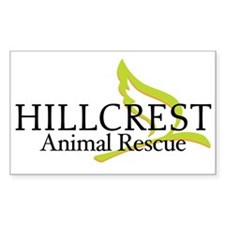 Hillcrest Animal Rescue Rectangle Decal