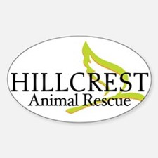 Hillcrest Animal Rescue Oval Decal
