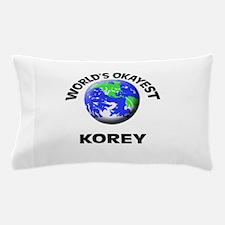 World's Okayest Korey Pillow Case