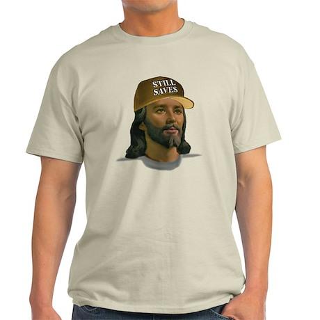 Jesus Still Saves (D Tan) Light T-Shirt