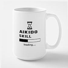 Aikido Skill Loading..... Large Mug