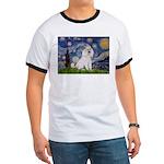 Starry Night / Std Poodle(w) Ringer T