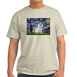 Starry Night / Std Poodle(w) Light T-Shirt