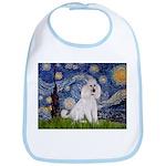 Starry Night / Std Poodle(w) Bib
