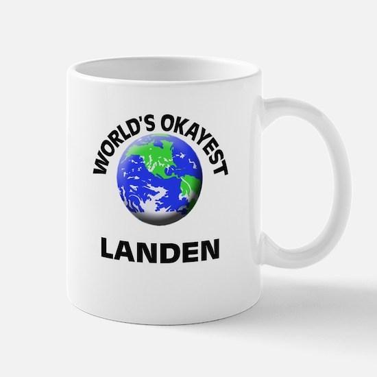 World's Okayest Landen Mugs