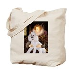 Queen / Std Poodle(w) Tote Bag