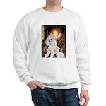 Queen / Std Poodle(w) Sweatshirt