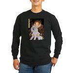 Queen / Std Poodle(w) Long Sleeve Dark T-Shirt