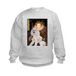 Queen / Std Poodle(w) Kids Sweatshirt