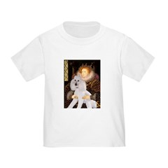 Queen / Std Poodle(w) Toddler T-Shirt