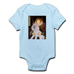 Queen / Std Poodle(w) Infant Bodysuit