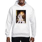 Queen / Std Poodle(w) Hooded Sweatshirt