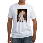 Queen / Std Poodle(w) Fitted T-Shirt