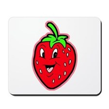 Happy Strawberry Mousepad