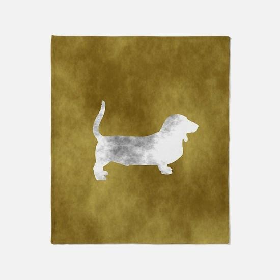 Cute Grey hound Throw Blanket