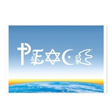Peace On Earth at Sunrise Postcards (Package of 8)