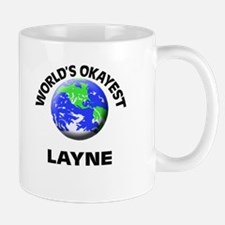 World's Okayest Layne Mugs