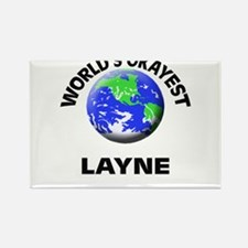 World's Okayest Layne Magnets
