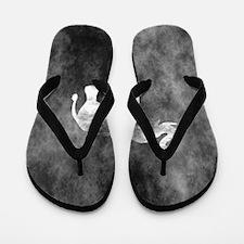 Unique Grunge look Flip Flops