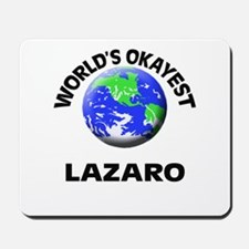 World's Okayest Lazaro Mousepad