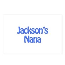 Jackson's Nana  Postcards (Package of 8)