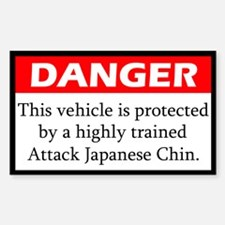 Attack Japanese Chin Decal
