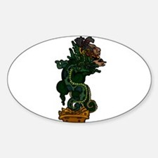 Mayan Serpent God Decal
