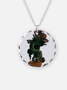 Mayan Serpent God Necklace
