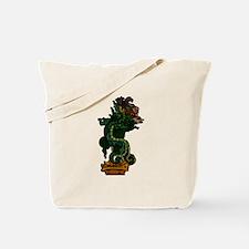 Mayan Serpent God Tote Bag