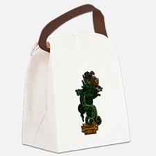 Mayan Serpent God Canvas Lunch Bag