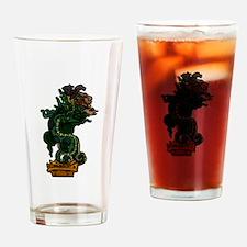 Mayan Serpent God Drinking Glass