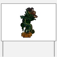 Mayan Serpent God Yard Sign