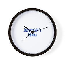 Jeremiah's Nana  Wall Clock
