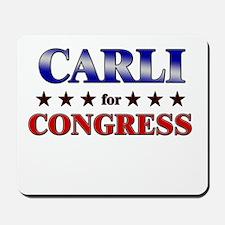 CARLI for congress Mousepad