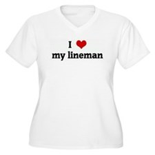 I Love my lineman T-Shirt