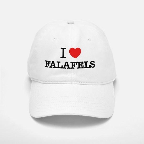 I Love FALAFELS Baseball Baseball Cap