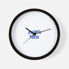 Justin's Nana  Wall Clock