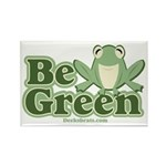 Be Green Rectangle Magnet