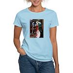 Tristan / 2 Poodles(b&w) Women's Light T-Shirt