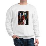 Tristan / 2 Poodles(b&w) Sweatshirt