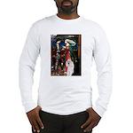 Tristan / 2 Poodles(b&w) Long Sleeve T-Shirt