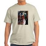 Tristan / 2 Poodles(b&w) Light T-Shirt