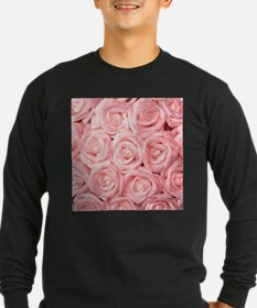 Gorgeous Roses,pink Long Sleeve T-Shirt