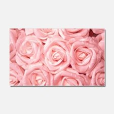 Gorgeous Roses,pink Car Magnet 20 x 12