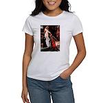 Accolade / 2 Poodles(b&w) Women's T-Shirt