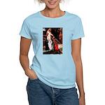 Accolade / 2 Poodles(b&w) Women's Light T-Shirt